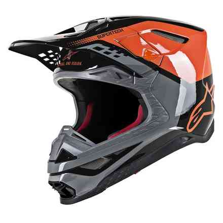 Casco Supertech S-M8 Triple Alpinestars