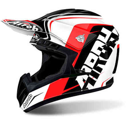 Casco Switch Sign rosso Airoh