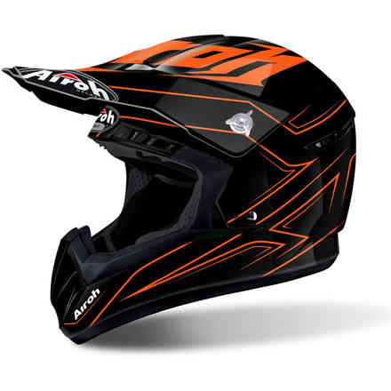 Casco Switch Spacer arancio Airoh