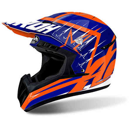 Casco Switch Startruck Blu Airoh