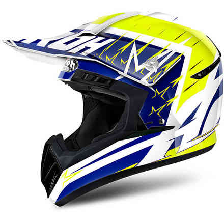 Casco Switch Startruck giallo Airoh