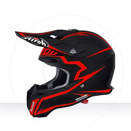 Casco Terminator 2.1 Fit orange matt Airoh