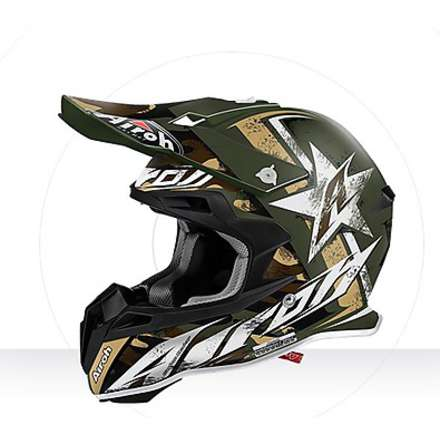 Casco Terminator 2.1 Ground Airoh