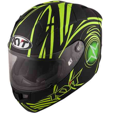 Casco Thunderflash Spark giallo KYT