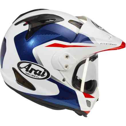 Casco Tour-X 4 Break Blu Arai
