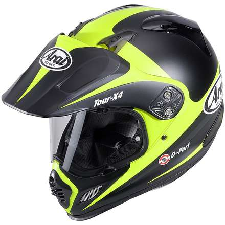 Casco Tour-X 4 Route Giallo Arai