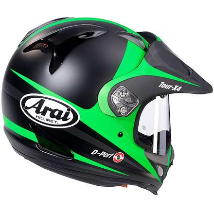 Casco Tour-X 4 Route Verde Arai
