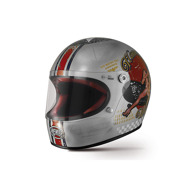 Casco Trophy Pin Up Old Style Silver Premier