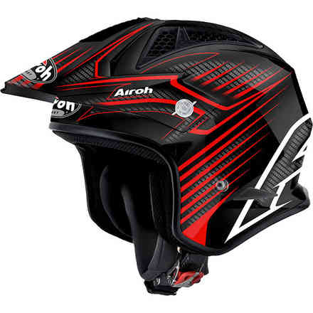 Casco Trr S Draft rosso Airoh