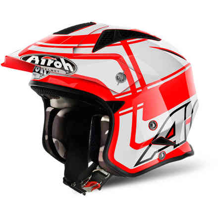 Casco Trr S Wintage rosso Airoh
