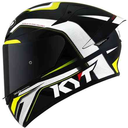 Casco Tt-Course Grand Prix nero-giallo KYT