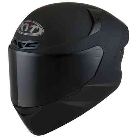 Casco Tt-Course Plain Matt nero opaco KYT