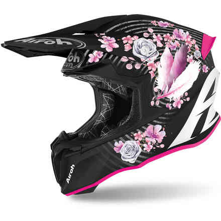 Casco Twist 2.0 flower opaco Airoh