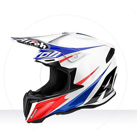 Casco Twist Freedom gloss Airoh