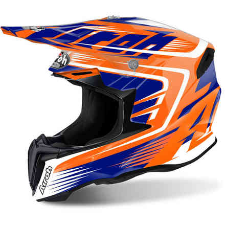 Casco Twist Mix arancio Airoh