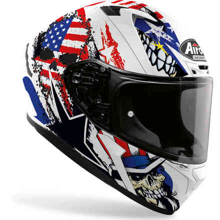 Casco Valor Uncle Sam  Airoh