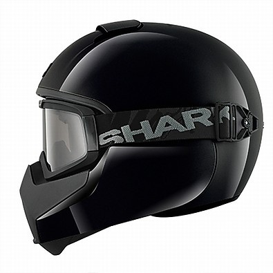 Casco Vancore Blank nero Shark