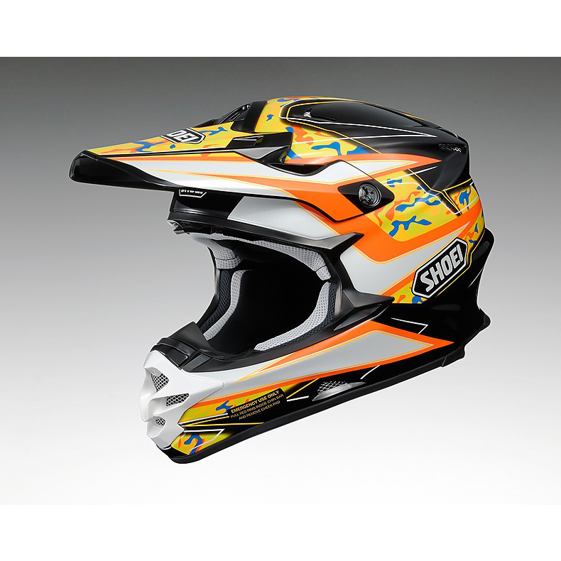 Casco Vfx-w Turmoil Tc-8 Shoei