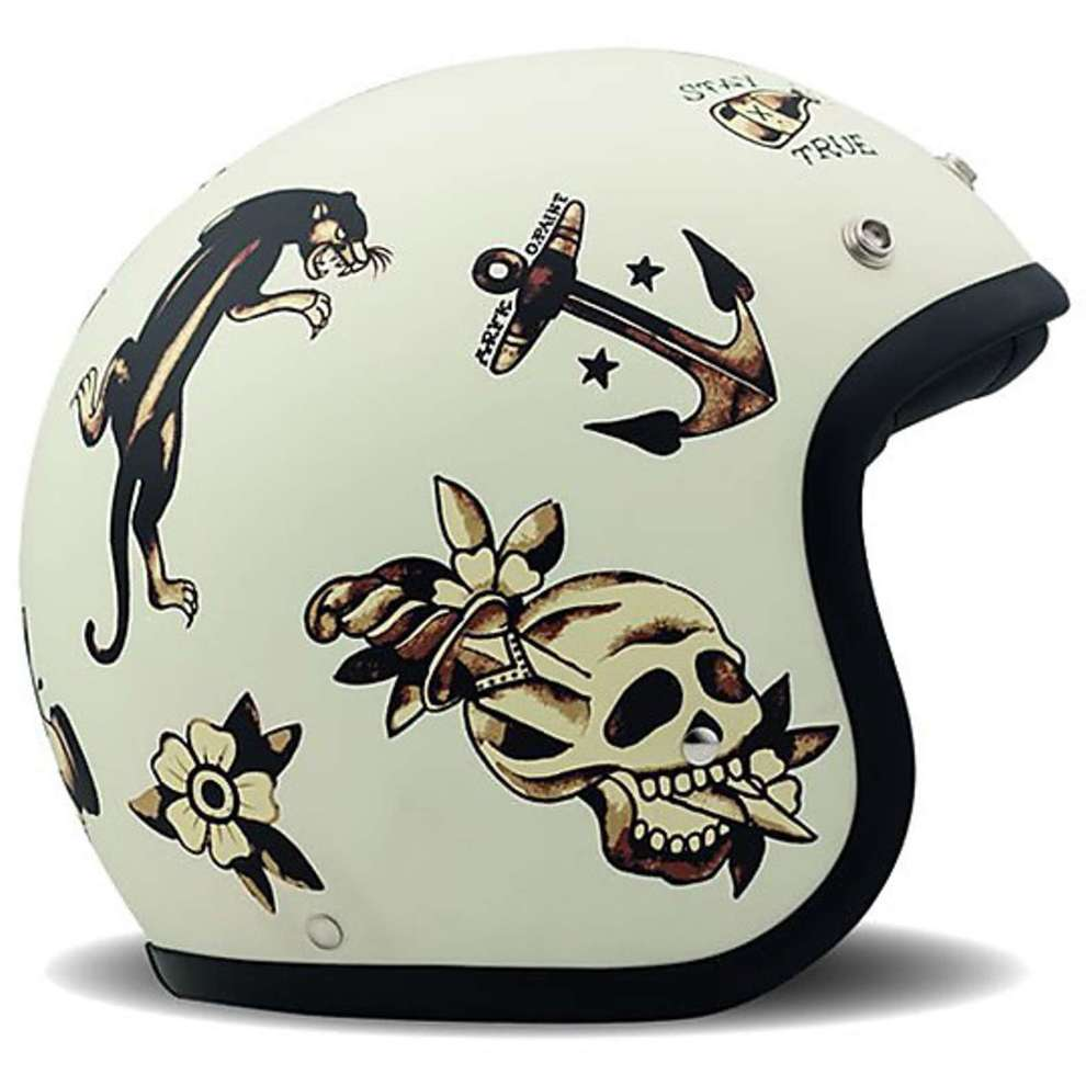 Casco Vintage Old School DMD