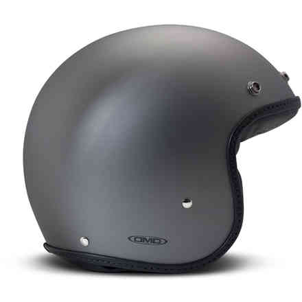 Casco Vintage pelle Pillow nero opaco DMD