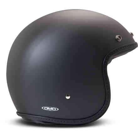 Casco Vintage Pillow Nero Opaco DMD