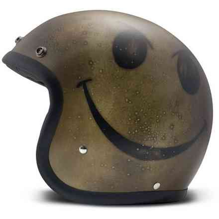 Casco Vintage Smile Oro Scuro DMD