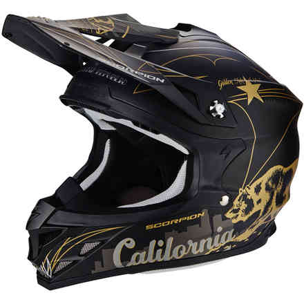 Casco Vx-15 Evo Air Goldenstate  Scorpion