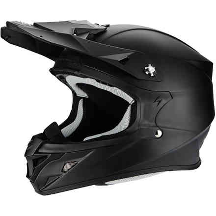 Casco Vx-21 Air Solid nero opaco Scorpion