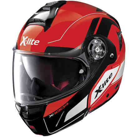Casco X-1004 Charismatic N-com Corsa Red X-lite
