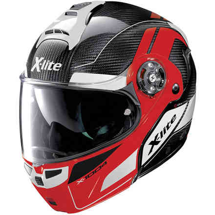 Casco X-1004 Ultra Charismatic Corsa Red X-lite