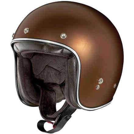 Casco X-201 Fresno Scratched flat copper X-lite