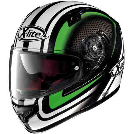Casco X-661 Slipstream verde X-lite