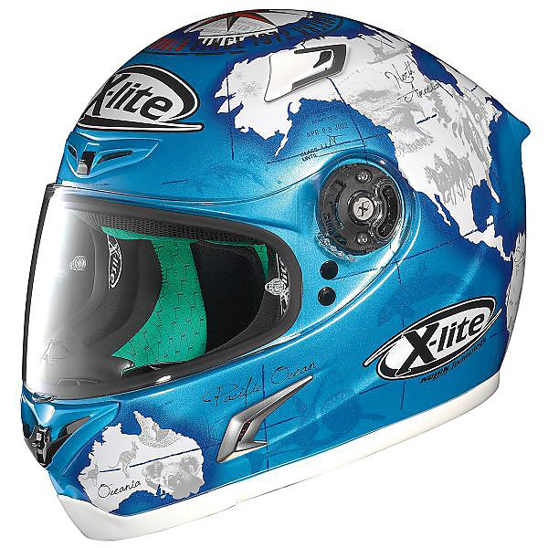 Casco X-802RR Replica C.Checa blu X-lite