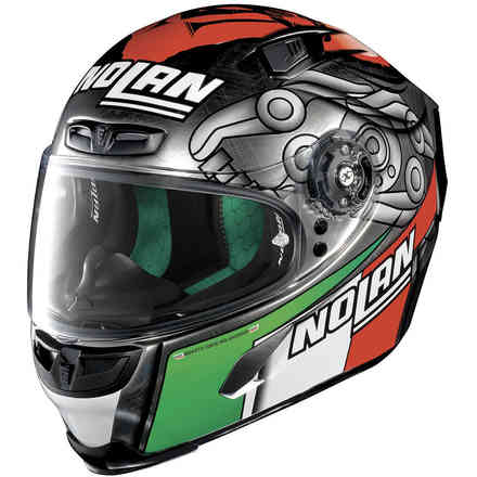 Casco X-803 Melandri Scratched Chrome X-lite