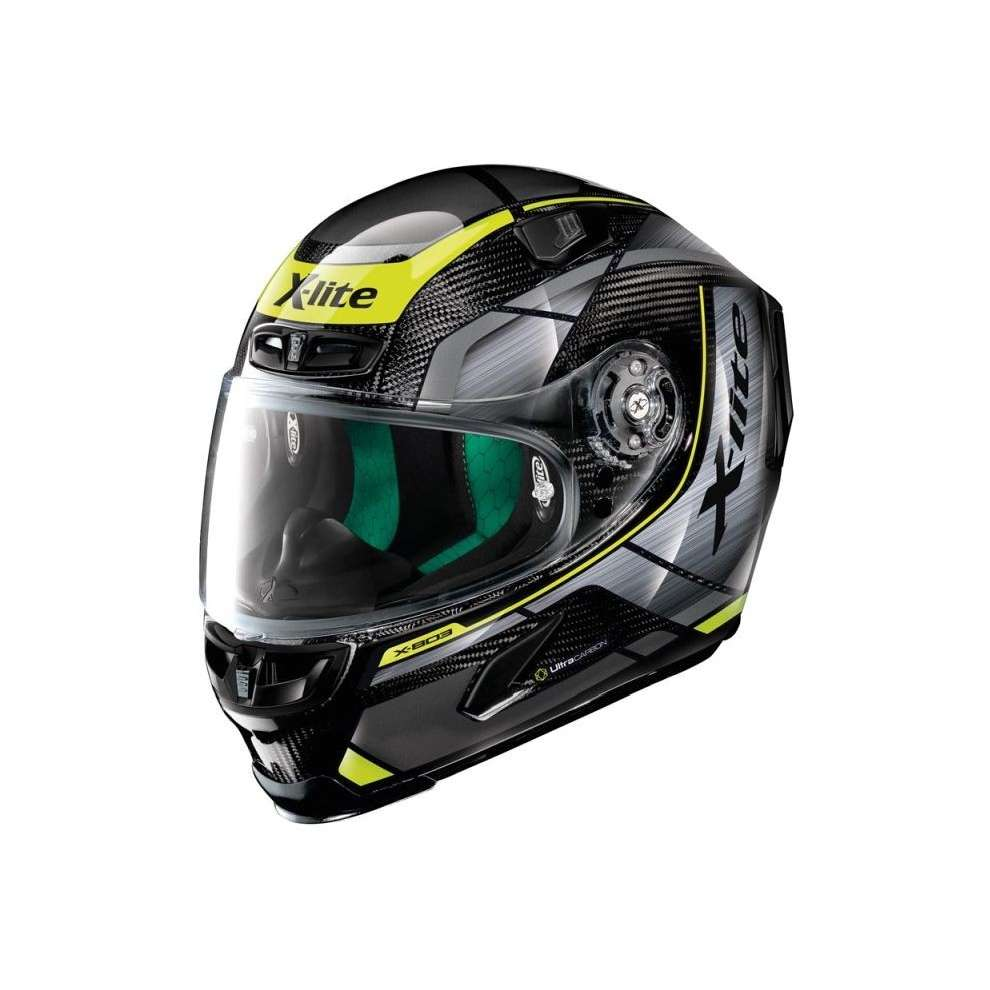 Casco X-803 Ultra Carbon Agile giallo X-lite