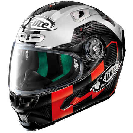 Casco X-803 Ultra Carbon Petrucci Test  X-lite