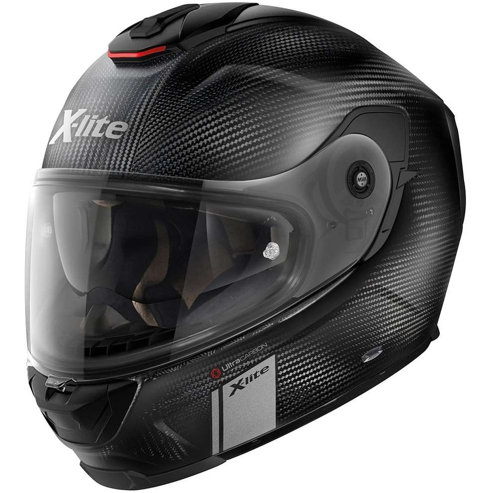 Casco X-903 ultra carbon Modern Class carbonio opaco double d-ring X-lite