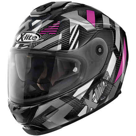 Casco X-903 Ultra Creek N-C Nero Rosa X-lite
