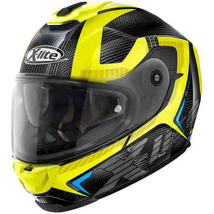 Casco X-903 Ultra Evocator Carbon giallo X-lite