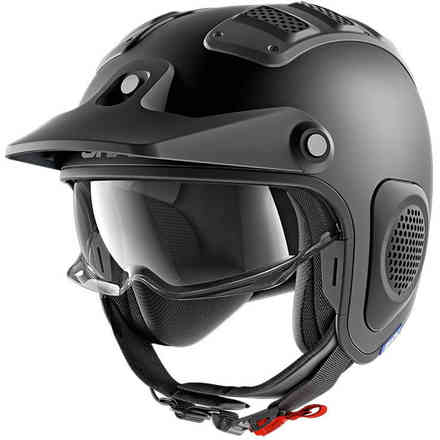Casco X-Drak Nero Opaco Shark