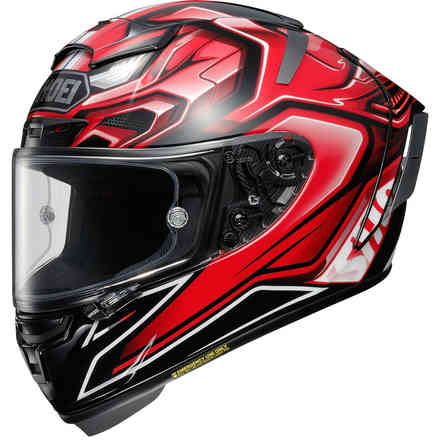 Casco X-Spirit 3 Aerodyne Tc1 Shoei