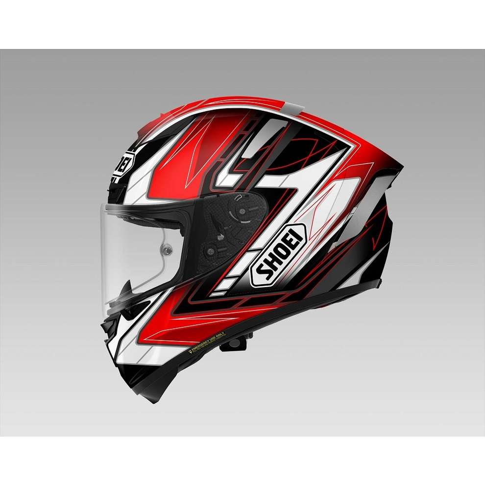 Casco  X-spirit III Assail Tc-1 Shoei