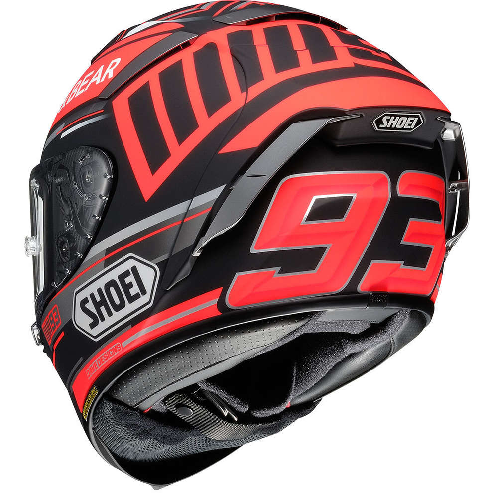 Casco X-Spirit III Marquez Black Concept Tc-1  Shoei