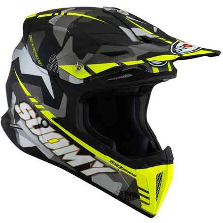 Casco X-Wing Camouflager Matt Giallo Suomy