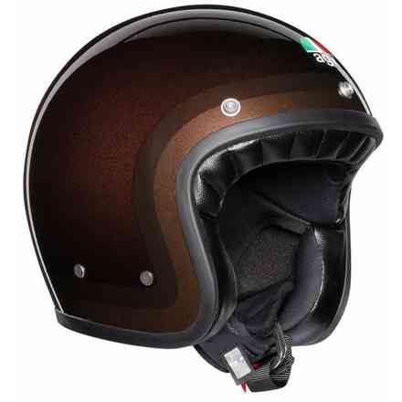 Casco X70 Multi Trofeo choccolate Agv