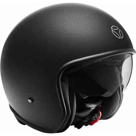 Casco Zero Pure Black Matt Momo