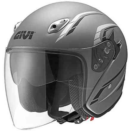 Casco20.6 J2 Plus Titanium Givi
