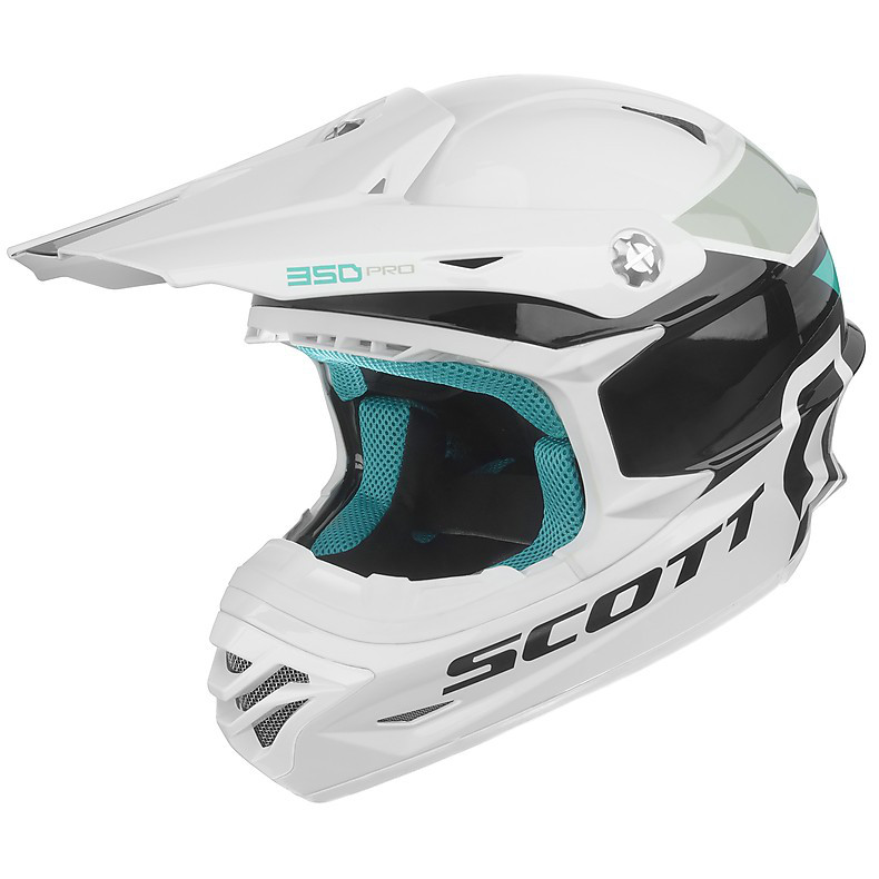 Casque 350 Pro Race blanc Scott