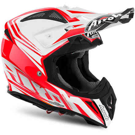 Casque Aviator 2.2 Ready gloss rouge Airoh
