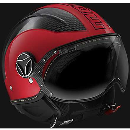 Casque Aviorouge carbon Momo